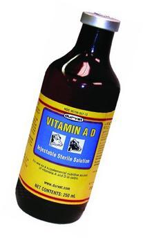 DURVET 002568 Vitamin Ad Injection, Yellow, 250ml