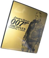 James Bond 007 Archives Trading Card Album