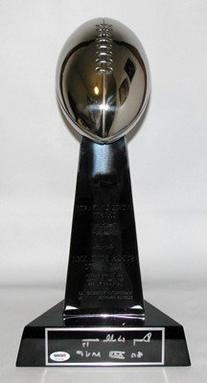01/31/1988 Super Bowl XXII Vince Lombardi Replica Trophy
