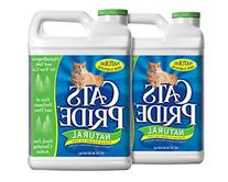 Cat's Pride 01320 Scoopable Cat Litter Jug, Natural, Pack of