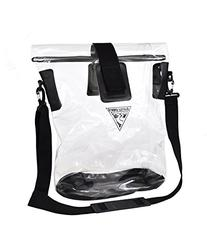 Built U.S.A. Seattle Sports Beach Tote, Clear