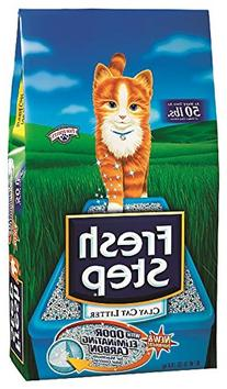 Fresh Step 02030 Clay Scented Cat Litter, 35-Pound