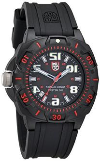 Luminox Men's 0215.SL Sentry 0200 Black Dial With Red