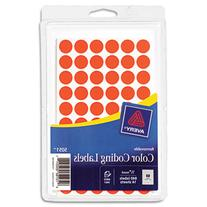 Avery 05051 Removable Self-Adhesive Color-Coding Labels .5in