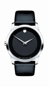 Movado Men's 0606502 Museum Stainless Steel Watch with Black