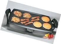 Presto 07039 Griddle Electric 22inch Removable Drip Pan