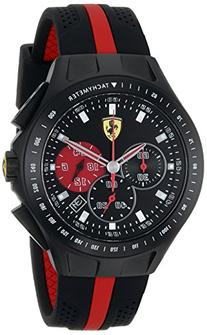 Ferrari Men's 0830023 Race Day Analog Display Quartz Black