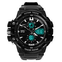 Skmei 0990 3ATM Water Resistant Digital & Analog Sports