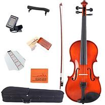 ADM 1/10 Size Handcrafted Solid Wood Student Acoustic Violin