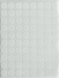 1/2  Half Inch Round White Coding Labels--Value pack White
