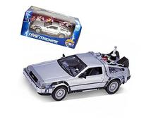 Welly 1/24 Scale Diecast Metal Delorean Time Machine Back to