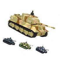 Best Choice Products 1:72 Mini Remote Control Battle Tank RC