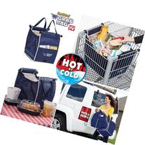 1 X ASOTV Insulated Reusable Grab Bag Grocery Shopping Tote