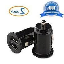Beam Electronics  10W 2.1 A Mini Dual-USB Car Charger in