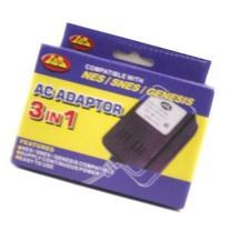 3 in 1 AC Adaptor - Nintendo, Super Nintendo, Genesis