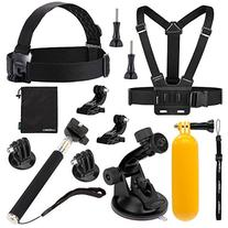 Luxebell Sport camera Accessories Kit for Gopro Hero 5 4 3+