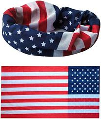 American US Flag Bandana Headband - Show Your American Pride