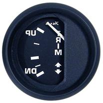 "1 - Faria Euro Black 2"" Trim Gauge"