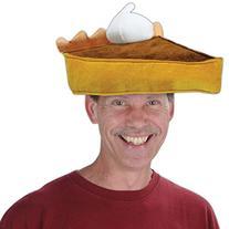 Beistle 1-Pack Decorative Plush Pumpkin Pie Hat