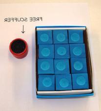 1 Dozen High Skore Blue Chalk