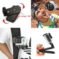 R REIFENG 3-in-1 Accessories Kit for Gopro Hero4 Hero HD 3+/