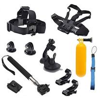 SNANSHI 8 in 1 Accessories Kit Head Chest Mount Floating