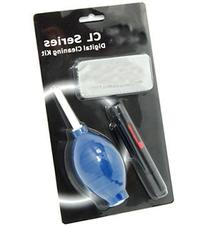 Cowboystudio 3-in-1 Lens Cleaning Kit for Canon, Nikon,