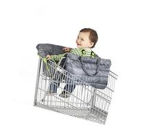 Nuby 2-in-1 Universal Size Quilted Shopping Cart and High