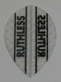 3 sets  Xtra Strong Ruthless CLEAR Pear Shape flights -