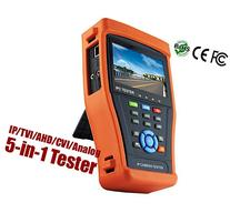 HDView® 5-in-1 Touchscreen POE CCTV Tester for IP / AHD /