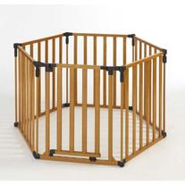 North States 3-in-1 Wood Superyard Playpen