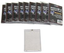 10 BCW Brand 1-Screw Down Trading Card Holder / Box -Thick