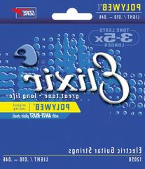 10-46 Elixir coated electric guitar strings light Polyweb