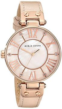 Anne Klein Women's 10/9918RGLP Rose Gold-Tone Watch with