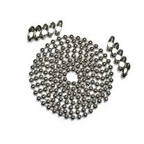 10 Foot Length Ball Chain, #30 Size, Nickel Plated Steel, &