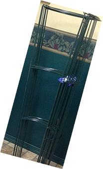 """10 Pack - Smart 42"""" Tall Heavy Duty opened Half Ring  Grow"""