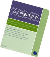 10 New Actual, Official LSAT PrepTests