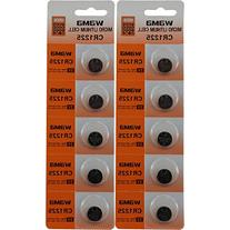 10 CR1225 3V LITHIUM BATTERIES