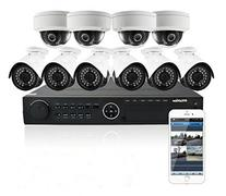 LaView 10 1080P IP Camera Security System, 16 Channel 1080P