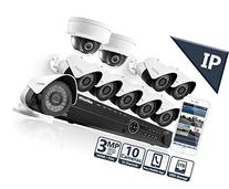 LaView 10 1080P 3MP IP Camera Security System, 16 Channel