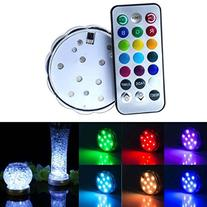 Soondar® 10-LED RGB Submersible LED Light, Multi Color