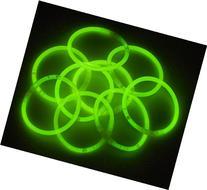 """100 10"""" Glowstick Bracelets GREEN"""