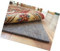 100% Felt Rug Pad - SAFE for all floors - Extra Thick - 9' x