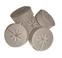 125 Pack Black - NEW SPOKE DESIGN - Net Pot Cloning Collars