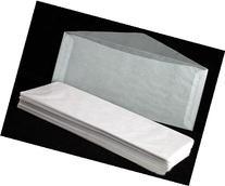 "100 #10 Glassine Envelopes measuring 4 1/8"" x 9 1/2"
