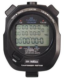 Ultrak 100 Lap Memory Timer, Yellow