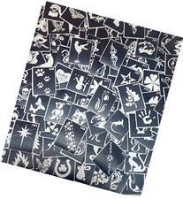 100 Three-layer Adhesive Stencils for Face Painting, Air