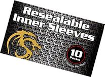 1000 BCW Resealable Inner Card Sleeves for Double Sleeving