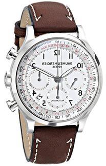 Baume & Mercier Men's 10000 Capeland Silver Chronograph Dial