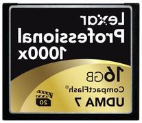 Lexar Professional 1000x 16GB CompactFlash Card